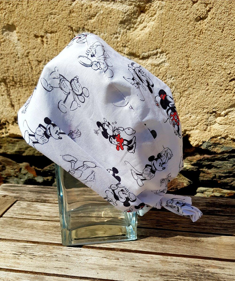 Calot bloc opératoire, chapeau de bloc