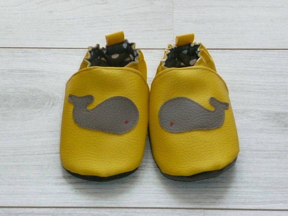 Chaussons souples confortables bébé/enfant- Montessori