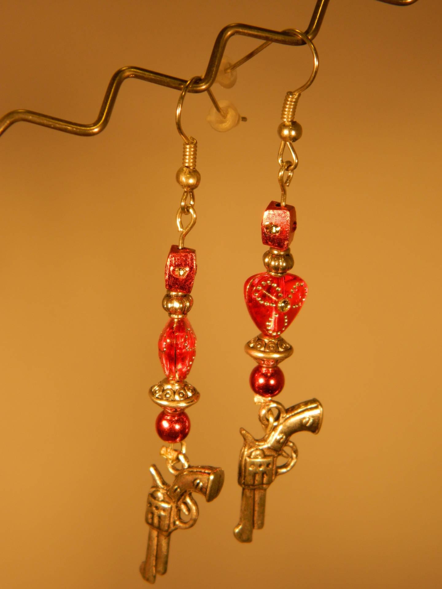 Perle coeur, résine, strass, multicolore, 8*8 mm, lot 25