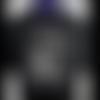 T-shirt coton king of kitesurf roi du kitesurf noir pour homme  s-xxl