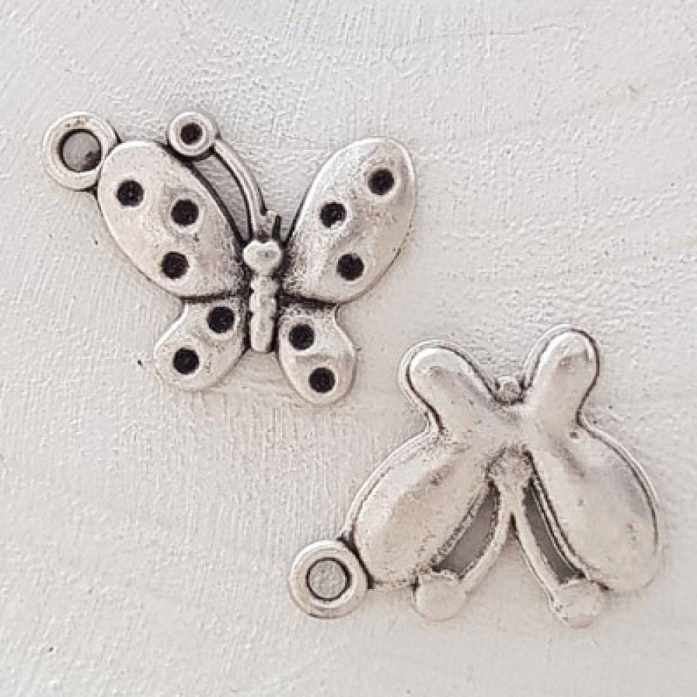 Breloque papillon N°14 Argent
