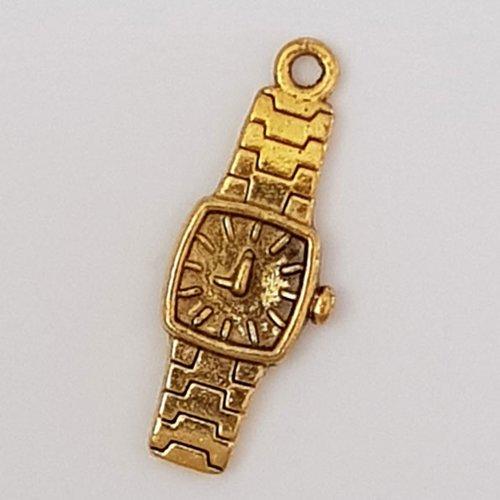 Breloque montre n°01 doré