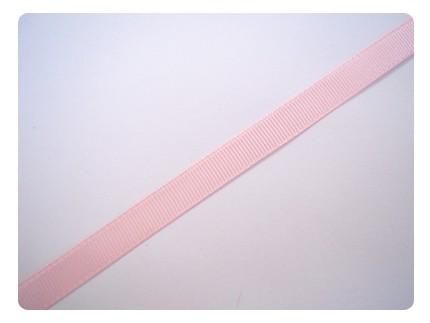 1m de ruban gros grain 9,5mm - rose pastel