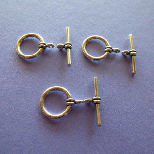 Lot 3 FERMOIRS Argent Tibétain  Bracelet /& Colliers