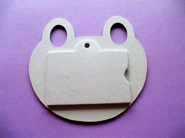 cadre photo support en carton modèle grenouille à décorer, loisirs créatifs, travaux manuels, art serviettage pour adulte et enfant