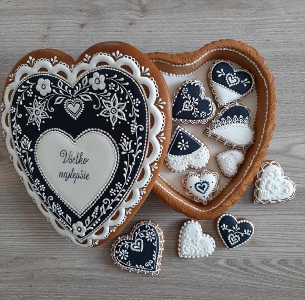 Boîte décorative en pain d'epices