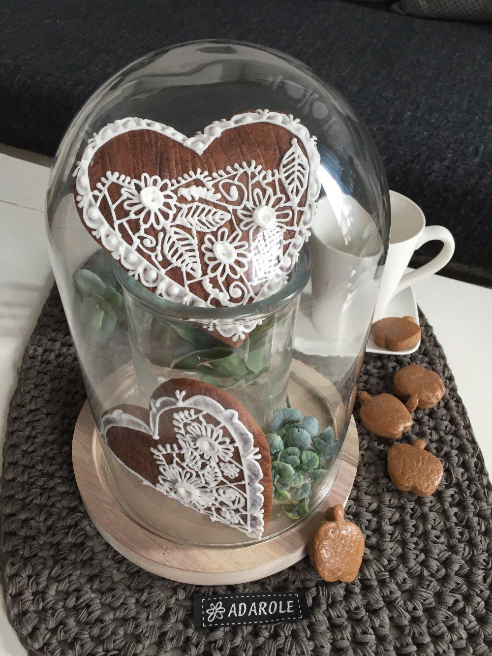 Coeurs en pain d'epices