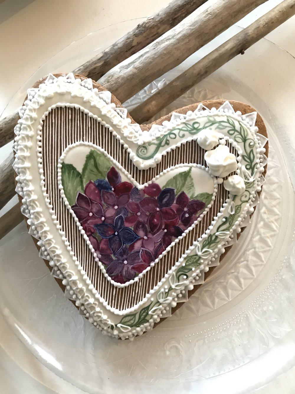 L'hortensia - grand cœur