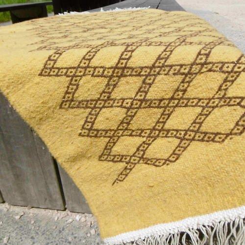 Petit tapis kilim berbère 1mx60cm