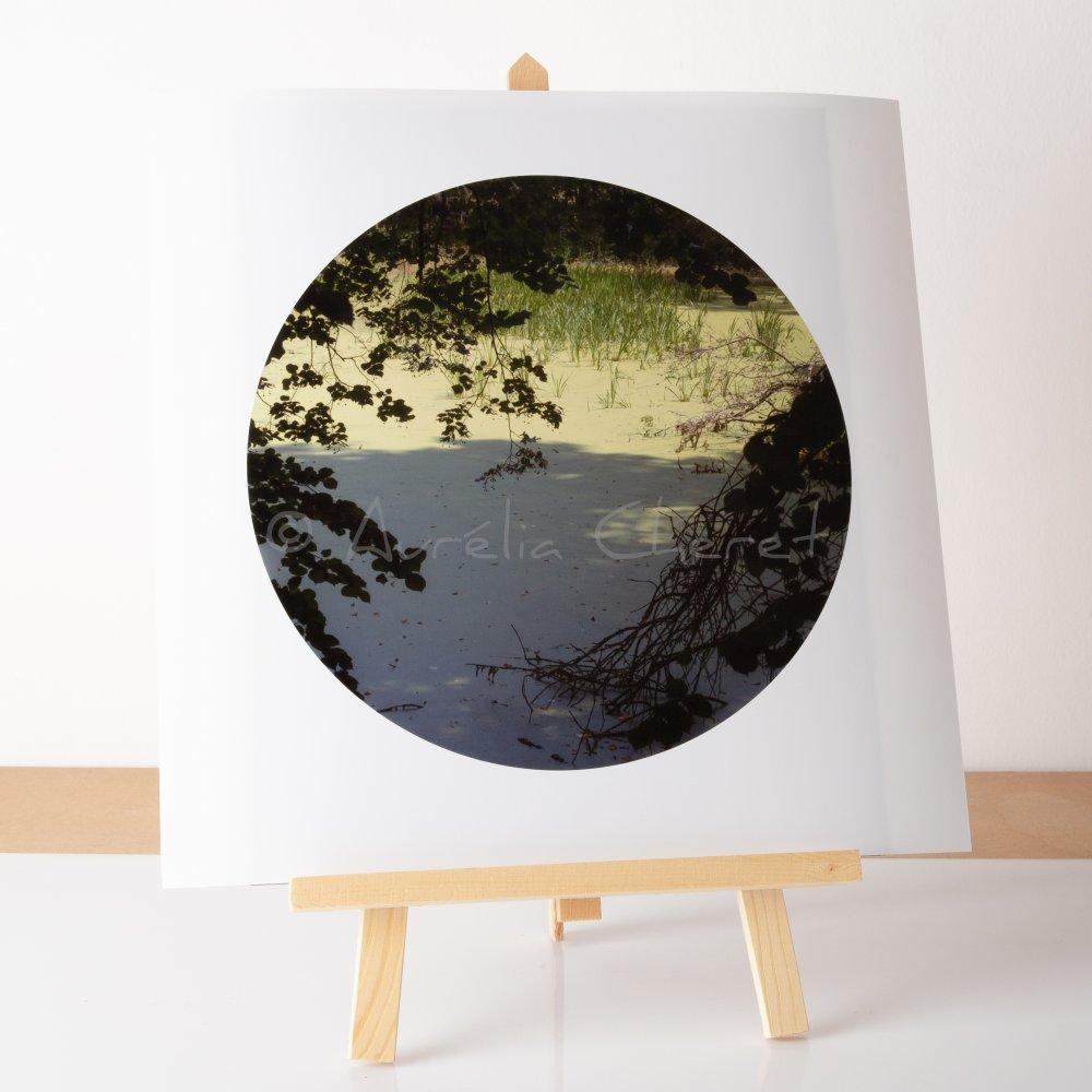 Photographie / poster , 30x30cm sur papier argentique