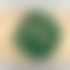 Lot de 10 perles de malachite rondes en pierre naturelle 10 mm.