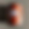 Bobine de fil plat ciré galaces - 110 mètres - polyester  0,8 mm d'épaisseur ref s043.  pour macramé, bijoux.