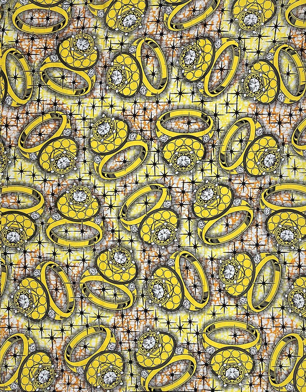 Wax pagne tissu africain collection HITARGET 6 Yards super cire imprimé pur COTON