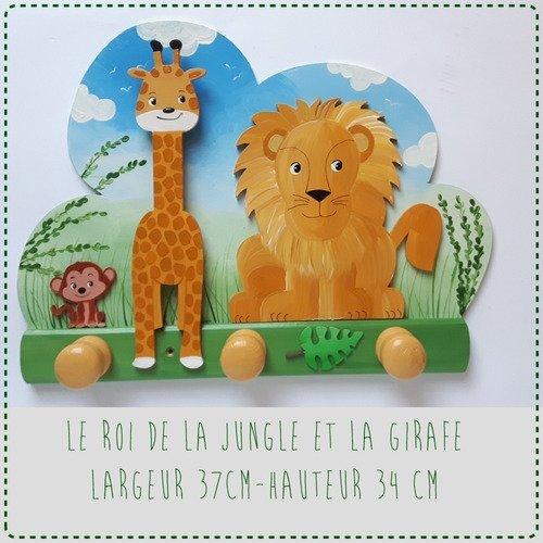 """Porte manteau  """"la jungle"""""""