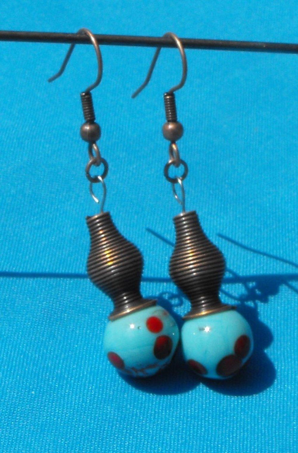 Boucles d'oreille Murano BCL.2179