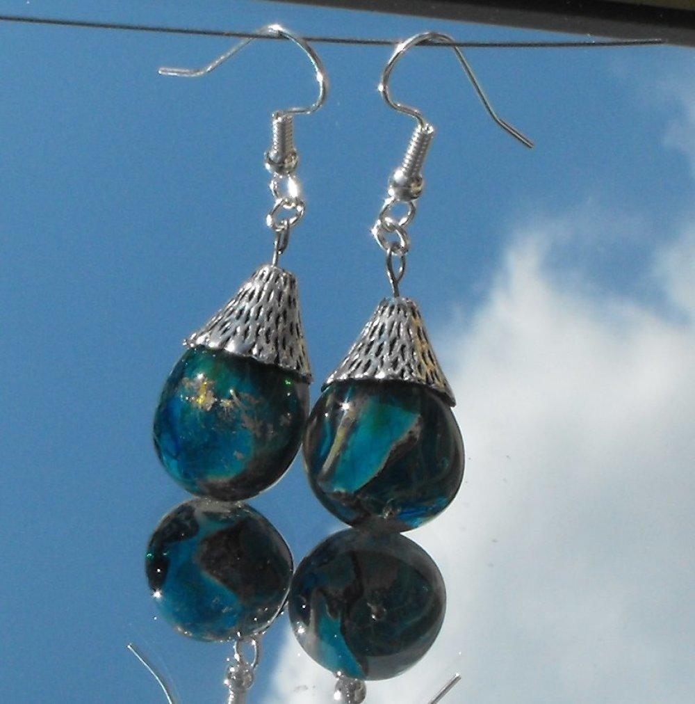 Boucles d'oreille Murano BCL.2199