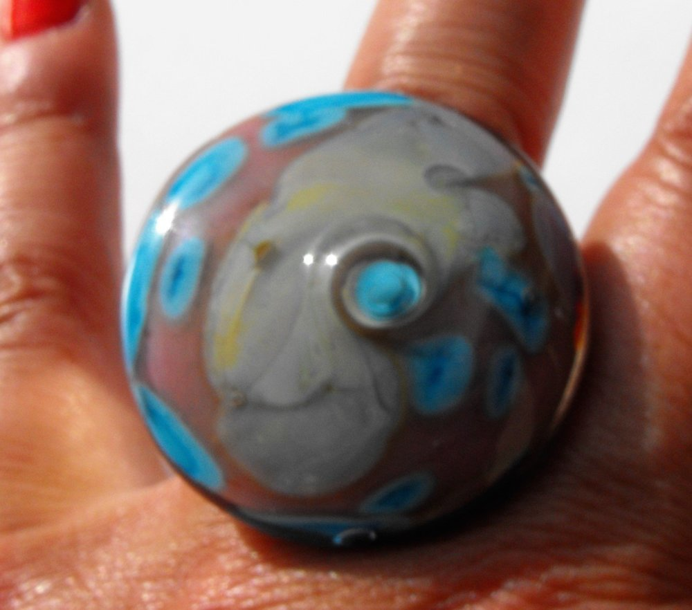 Bague cabochon Murano BAG.1328