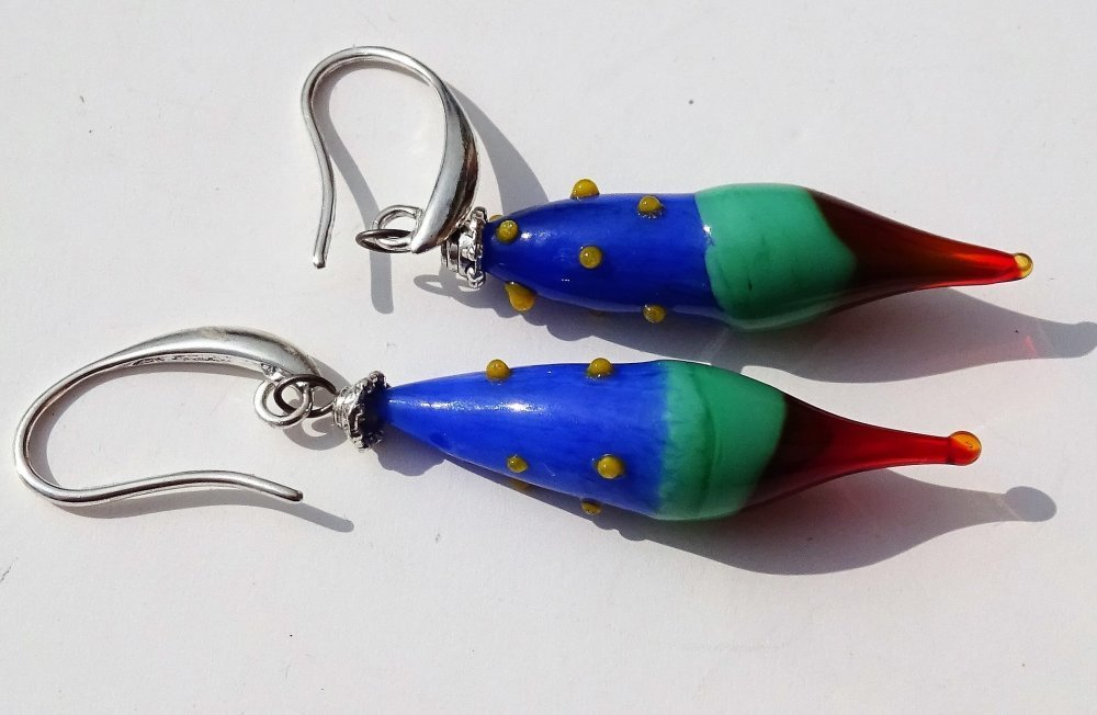 Boucles d'oreille Murano BCL.2718