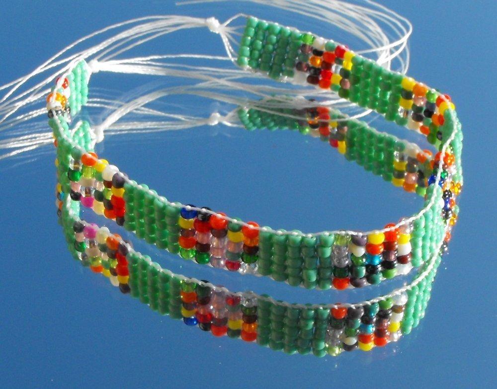 Kit bracelet tissé PERL.0815