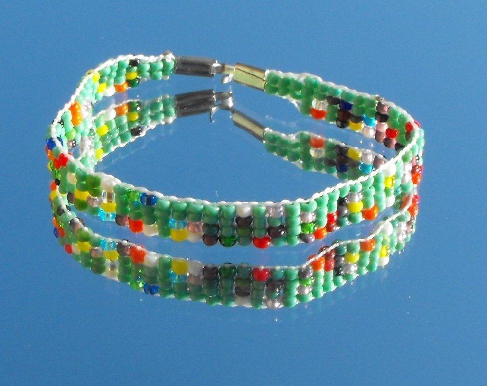 Kit bracelet tissé PERL.0828
