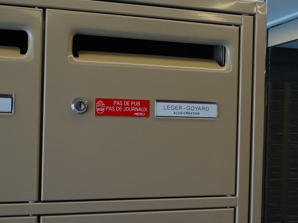 Kits étiquettes boîte aux lettres