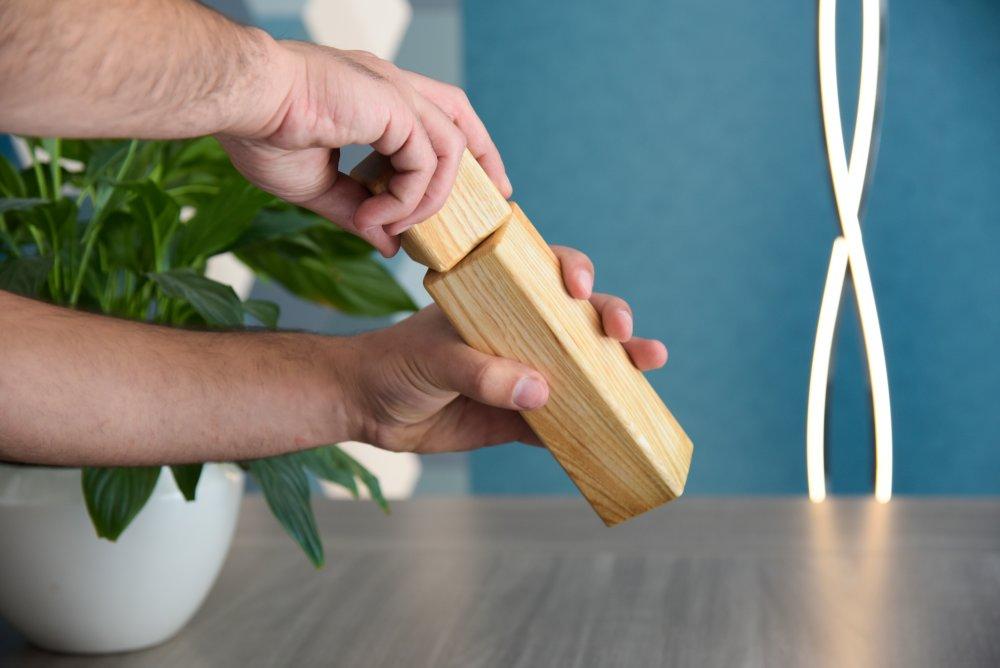 Moulin à poivre, sel et épices - Broyeur Céramique - Frêne