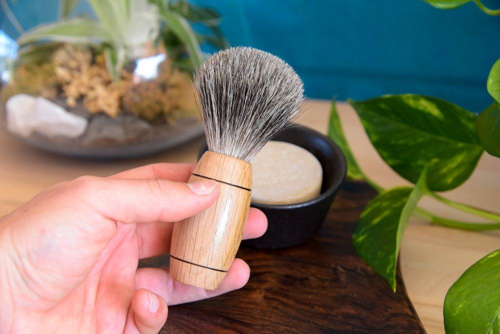 Blaireaux de rasage - 100 % poils de blaireaux