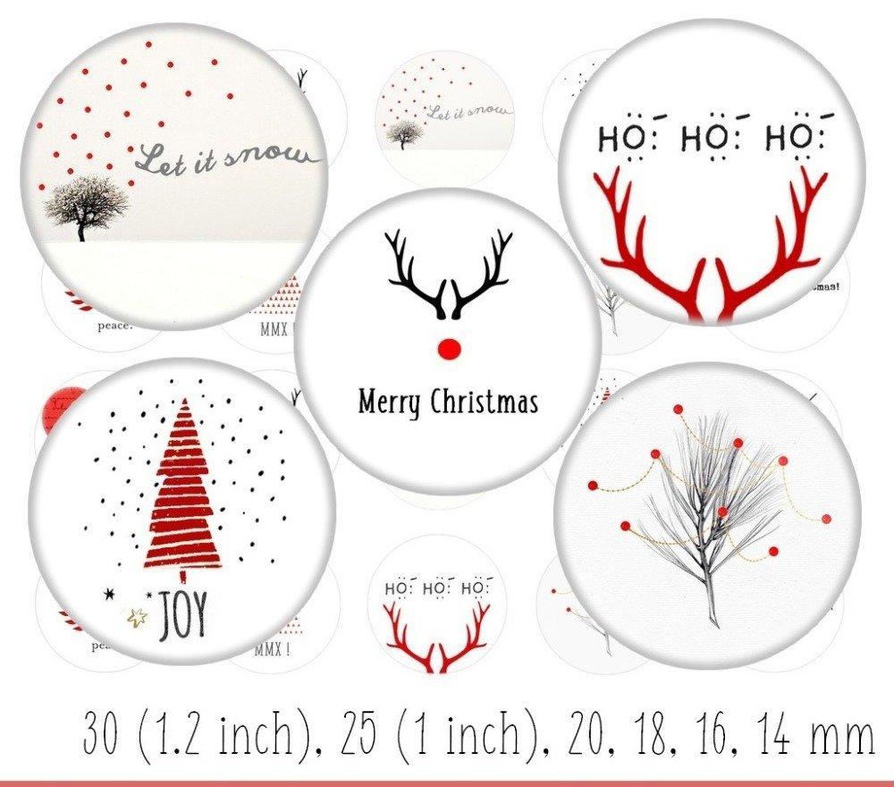 images digitales Noël - images digitales cabochon bijoux