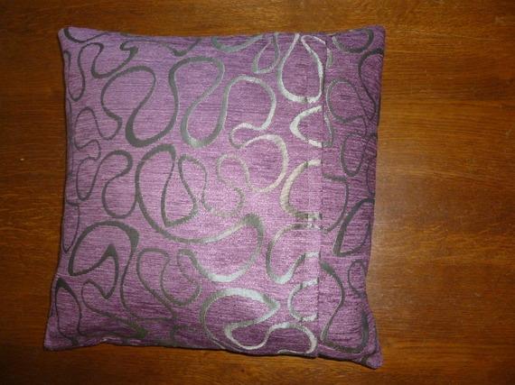 Housse de coussin carrée en très beau velours imprimé