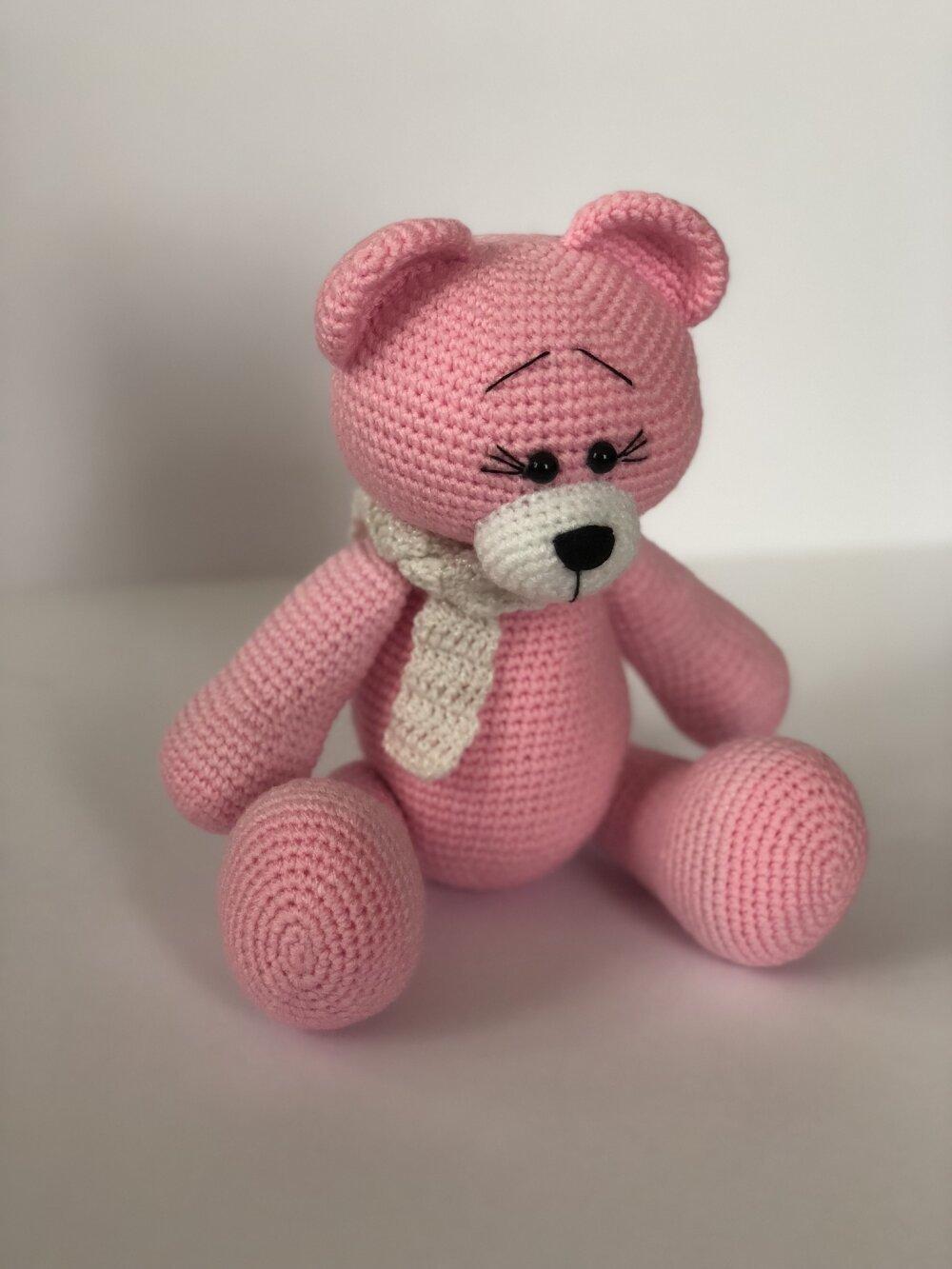 Fiche amigurumi : Gros Ourson – Elylou crochette | 1333x1000