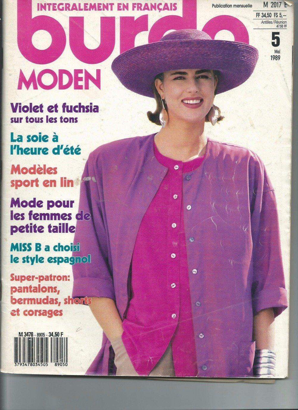 Burda moden  N° 05 - 1989