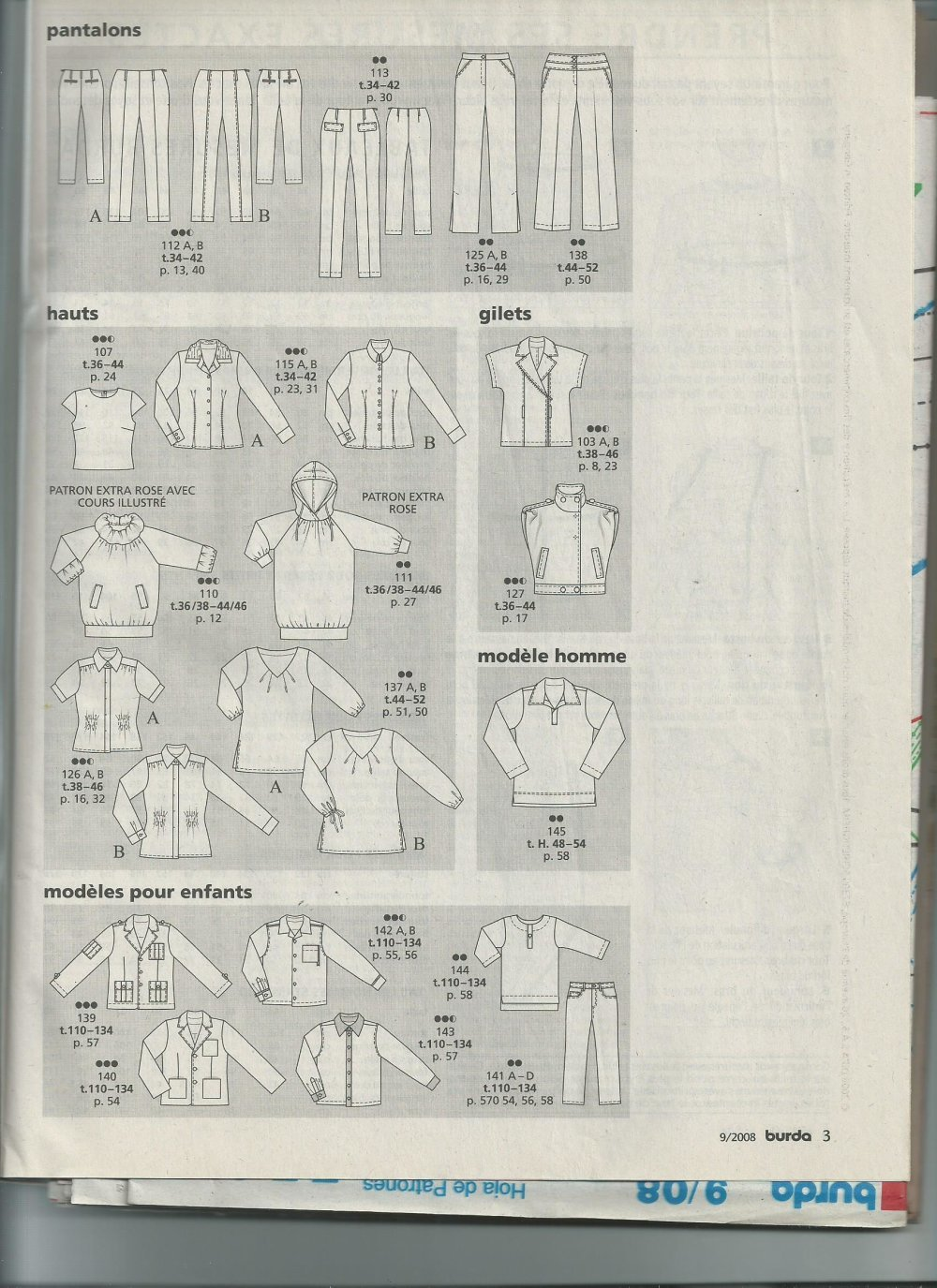 Burda tendance mode N° 105