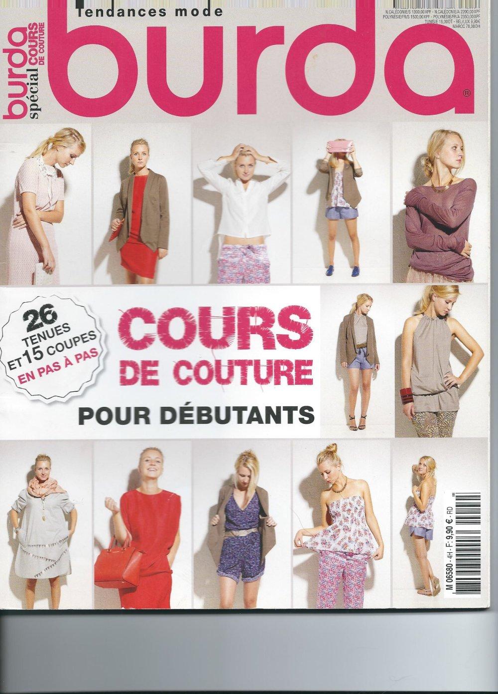 Burda special cours de couture N° 4H