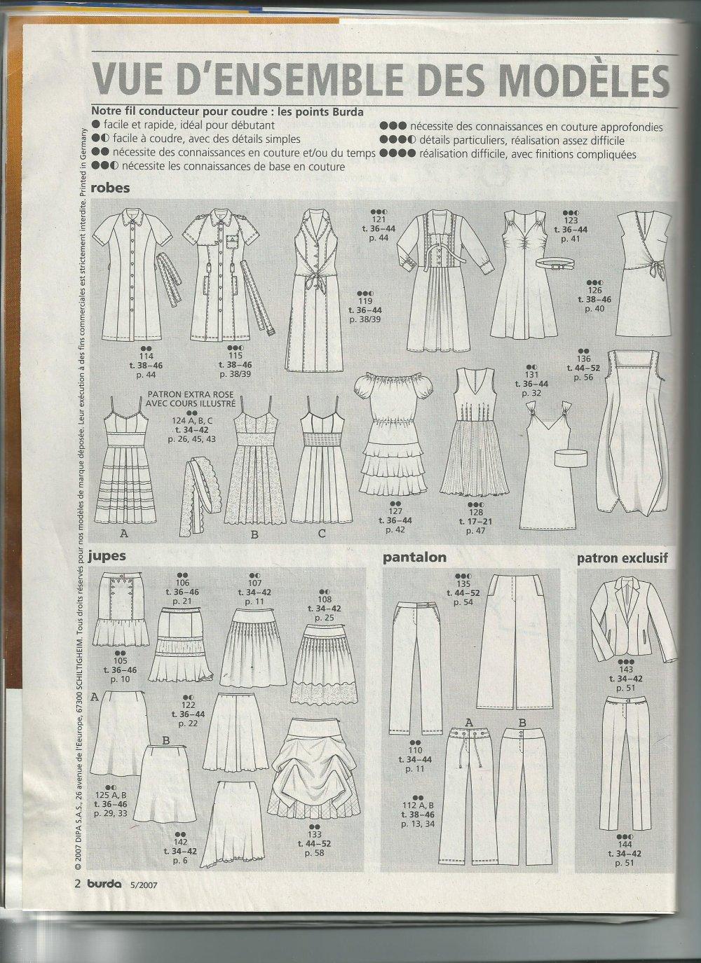 Burda tendance mode  N° 89
