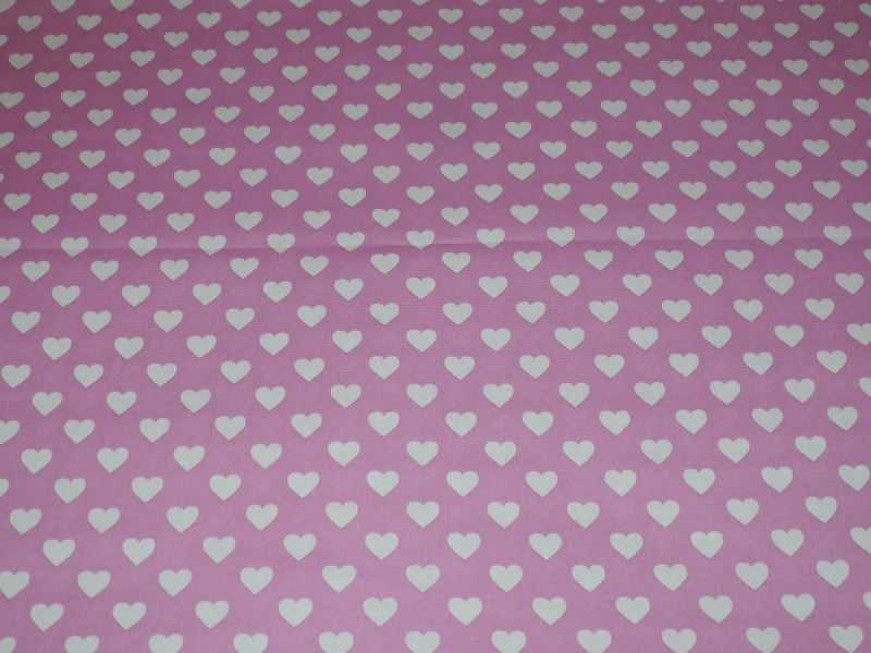 Tissu patchwork MICHAEL MILLER CX5920-ORCH-D : Hearts all over peon - Coupon 50 x 55 cm