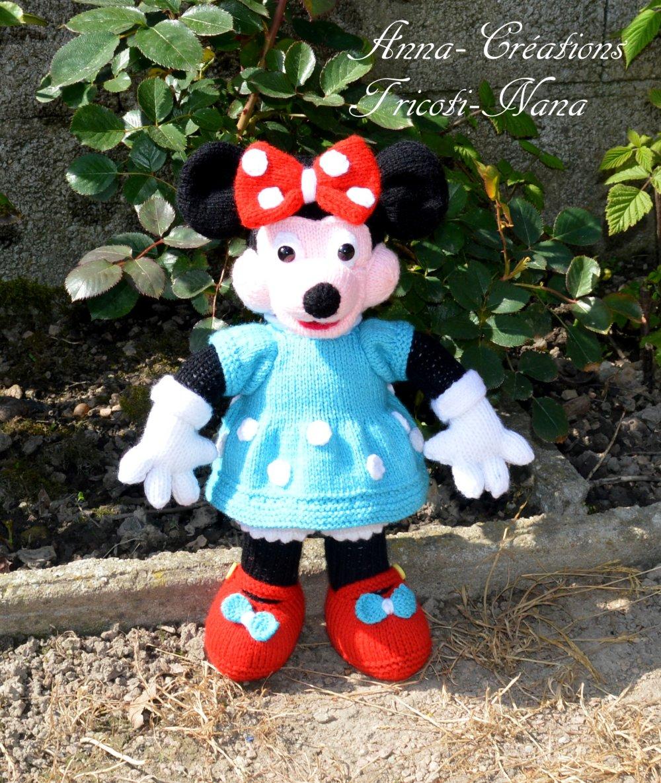 Jolie petite souris Style Minnie