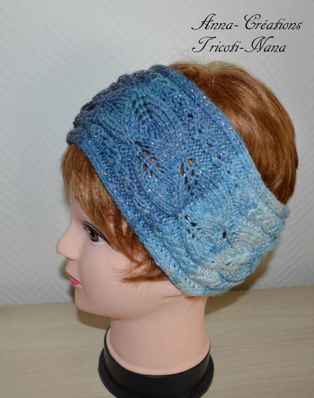 Bandeau ou headband femme au tricot