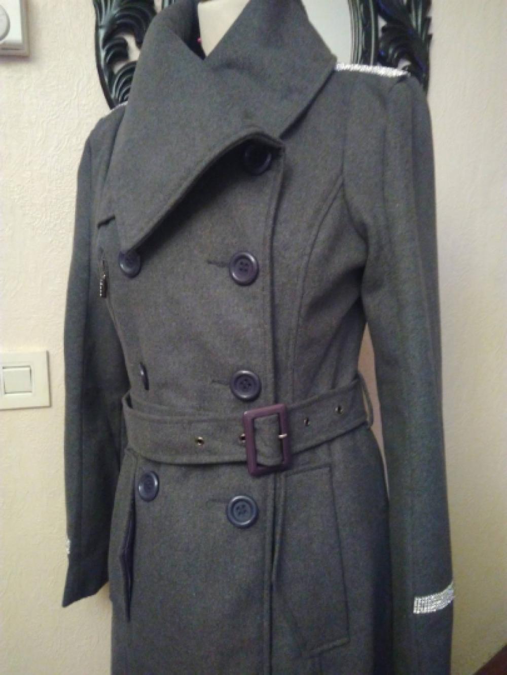 Manteau crochets poches et épaulettes femme Vert | 3 SUISSES