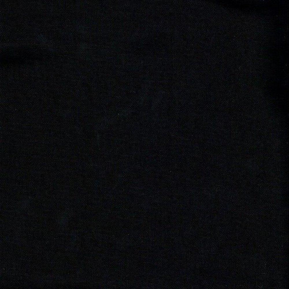 Tissu Noir uni 100% coton