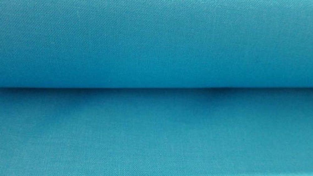 Tissu Turquoise uni 100% coton