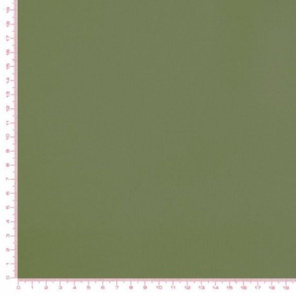 Tissu Vert uni, vert Amande coton, vendu par 10 cm