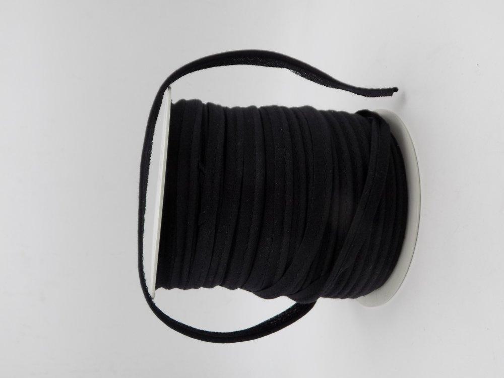 Passepoil en tissu,coton de couleur noir,vêtements femme,vêtements fille,cadeau femme,cadeau fille,fournitures mercerie,accessoires