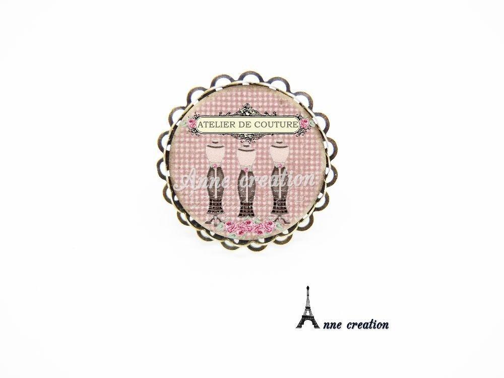 marque-page atelier de couture mannequin