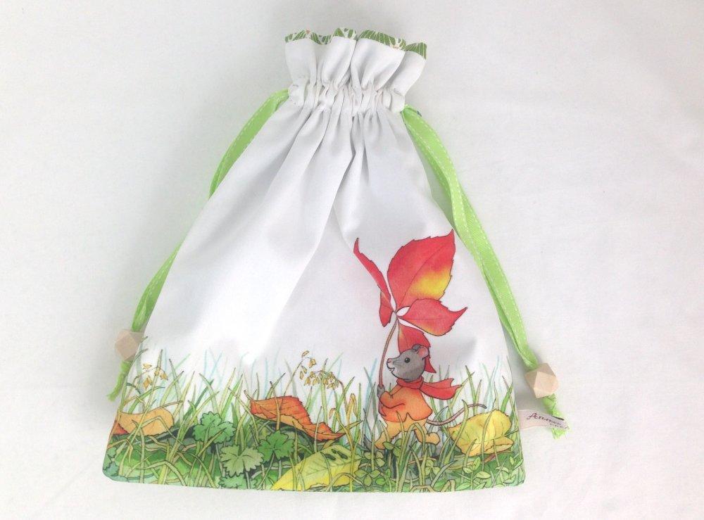 Kit DIY couture du Pochon des souris en Automne