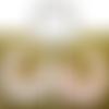 Bavoir bébé col claudine fermeture par « scratch »