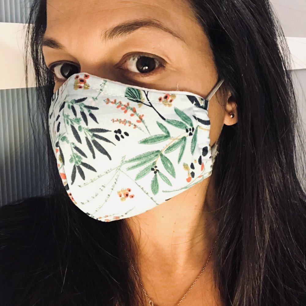 Lot de 3 Masques Alternatifs en Tissus Adultes