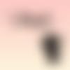 Chaton, prénom et étoiles thermocollants personnalisables