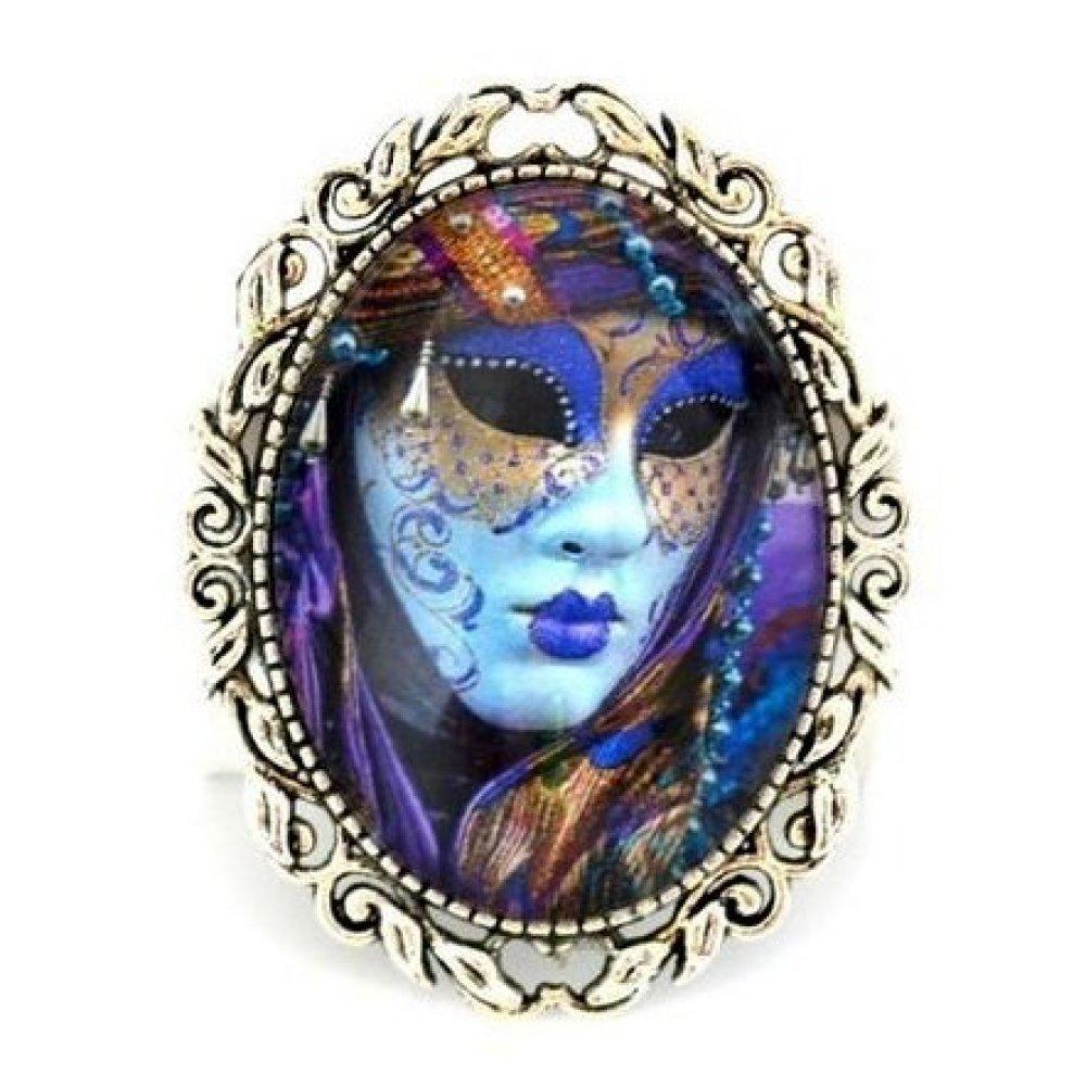 Broche épingle * Masque de Venise * carnaval fêtes vénitiennes