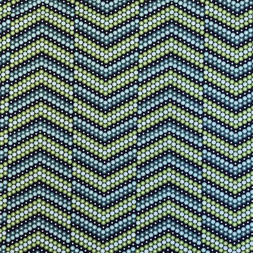 Tissu designer dino graphique 45x55cm