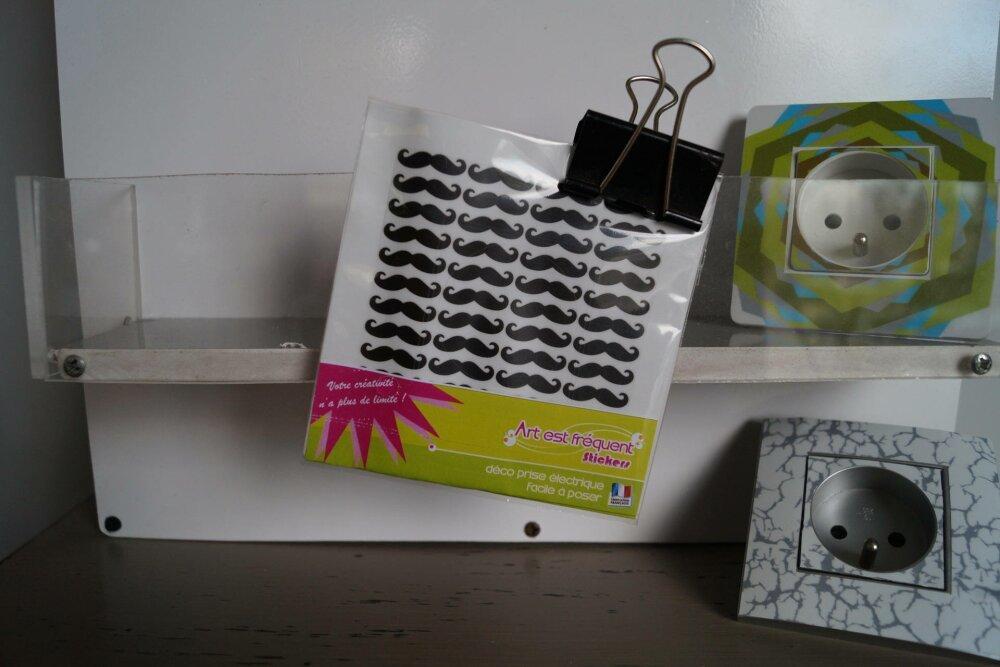 Stickers prise électrique